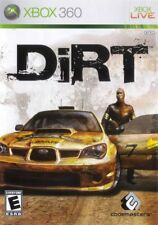 DiRT (2007) Brand New Factory Sealed USA Microsoft Xbox 360 X360 Game