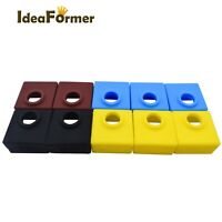 10Pcs MK7/MK8/MK9 Protective Silicone Sock Insulation Cover For MK Heater Block.