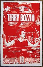 TERRY BOZZIO 2016 Gig POSTER Portland Oreg Concert MISSING PERSONS / FRANK ZAPPA