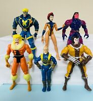 VINTAGE '90s MARVEL ToyBiz Superhero Action Figures Lot X-Men Wolverine Rare