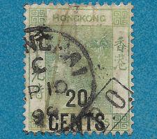 Hong Kong, 1891 - Queen Victoria - livraison gratuite dès 5 lots en achat groupé