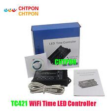 TC421 WiFi time programmable led controller tc420 dimmer rgb aquarium lighting