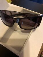 Authentic EUC Christian Dior So Light Dark Grey With Purple Gradient Sunglasses