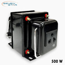 SevenStar THG-500 Watt 220V to 110V Step-Down Voltage Converter Transformer