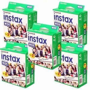 ab1 FUJIFILM INSTAX WIDE PAPEL FOTOGRAFICO INSTANTANEO 10 20 40 50 100 FOTOS