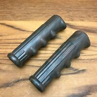 Vintage Bicycle USA Made Reproduction 1930s Marbled Brown Hand Grips