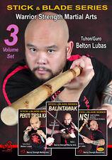 Belton Lubas Dvd Series - Pekiti Tirsia Kali - Balintawak - Nsi ( Vol-1, 2 & 3)