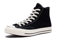 Converse Men's Chuck 70 Suede High Top Sneakers,Black/Egret/Egret