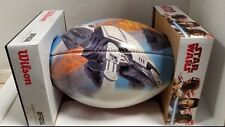 SDCC 2018 EXCLUSIVE WILSON STAR WARS RALPH MCQUARRIE FOOTBALL LTD ED OF 50 MADE!