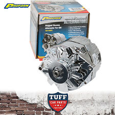 Holden LH LX Torana 253 308 V8 Proform Chrome Alternator 100 AMP Internal Reg