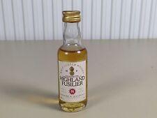 Mignonnette mini bottle non ouverte , whiskey whisky highland fusilier 8 ans