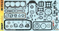 Ford/Mercury 312 Y-Block Full Engine Gasket Set/Kit BEST Head+Intake 1956-60