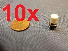 Grey 10 pieces + plastic cap 6x6x7mm Tactile Push Button Switch 10pcs 10x c1