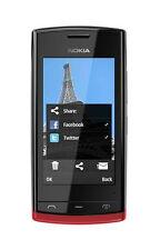 Nokia  Asha 500  (T-Mobile) Handy Farbe Rot ohne simlock Neugerät