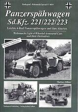 Tankograd 4014: Panzerspahwagen Sd.Kfz. 221 / 222 / 223
