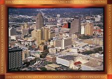 Aerial View of Downtown San Antonio, Texas, Bank of America Plaza etc - Postcard