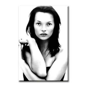 "cc art- CANVAS PRINT - KATE MOSS 'MONA LISA' - 36""x24"""