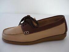 Aerosoles Scarpe Donna 36,5 (4) Marrone/Beige Pelle Scarpe Basse Nuovo