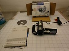 Sony Handycam DCR-SX85  Camcorder Used less than 1/2 hour