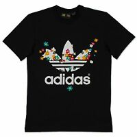 Adidas Originals Hippie Flower 60s Summer Trefoil Tee Pharrell Williams Shirt XS