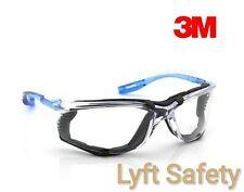 3M Virtua CCS Safety Glasses Foam Gasket Clear Anti Fog Lens Eye 11872-00000-20