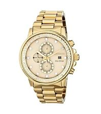 CITIZEN Eco-Drive FB3002-53P Nighthawk Gold Swarovski Unisex Chronograph Watch