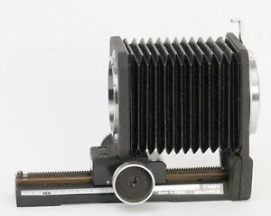 Canon FD mount bellows genuine Canon film tested