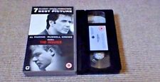 THE INSIDER Widescreen UK VHS VIDEO 2001 Al Pacino Russell Crowe Michael Mann