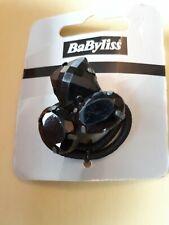 Babyliss Black Jewel Hair Elastic Tie Clip Hair
