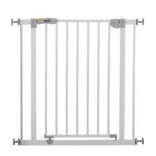 Cancelletto di Sicurezza in Metallo Bianco - Hauck 597026 Open N Stop
