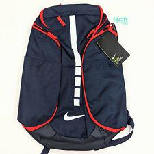 Nike Hoops Elite Pro Backpack Laptop Bag Blue Red Basketball USA BA5554-414