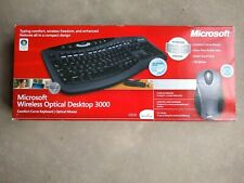 Microsoft Wireless Optical Desktop Keyboard and Mouse Bundle 3000