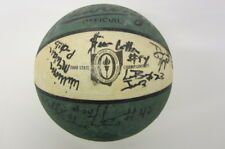 LeBron James 2000 St V St Mary HS State Champion signed TEAM basketball PAAS