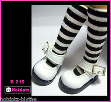 Alice's Shoes, Custom Mary Jane For Blythe/Pullip/Momoko/Obitsu/Dal - B210,WH