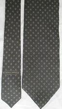 -AUTHENTIQUE cravate cravatte  GIORGIO ARMANI   100% soie  TBEG  vintage