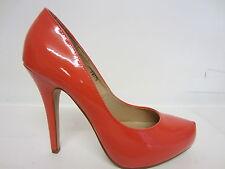 Anne Michelle f9775 Zapatos Mujer Clásicos Coral O Charol NUDE Tallas 3 x 8
