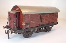 Fleischmann Spur 0 46080 gedeckter Güterwagen Blech Nr.2 Keine OVP #1161