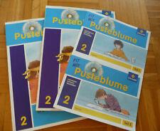 Pusteblume Das Sachbuch 2 + Arbeitsheft 2 + Lernsoftware CD + Medienheft 1+2
