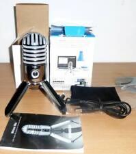 Samson Meteor USB Condenser Studio Microphone - Chrome