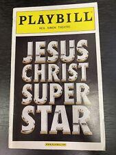 JESUS CHRIST SUPERSTAR May 2012 Broadway Playbill! PAUL ALEXANDER NOLAN +!