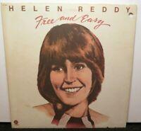 HELEN REDDY FREE AND EASY (VG) ST-11348 LP VINYL RECORD