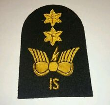 SEA CADET CORPS Cadet CIS IS gold wire Arm Badge SCC