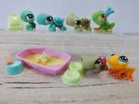 LPS Littlest Pet Shop bundle incl. frogs turtle & accessories
