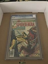 the Amazing Spiderman Annual #10 CGC 8.0 1976 The Human Fly Origin-White Pages!