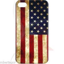 CUSTODIA COVER CASE RIGIDA PER APPLE IPHONE 4 4S BANDIERA VINTAGE AMERICA FLAG