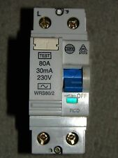 Wylex WRS80/2 80A 30mA 240v RCD to BS61008