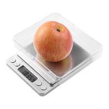 0.01-500g Mini LCD Digital Küchenwaage Edelstahl Feinwaage Grammwaage Scale