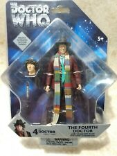 DOCTOR WHO 4TH DR FOURTH WITH SWAPPABLE HEAD FIGURE NEW SEALED MIB
