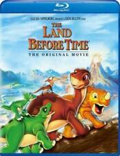 Blu Ray THE LAND BEFORE TIME. Animated movie. Region free. New sealed.