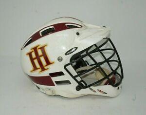Cascade CLH2 Lacrosse Helmet White OSM Padded Chin Strap